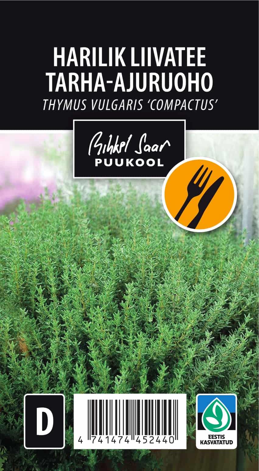 Etikett, Thymus vulgaris